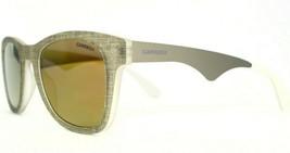 New Authentic Carrera Gray Mirrored 6000/TX FTXSQ Sunglasses 51-23-145 DD 75 - $51.98
