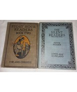 Antique Story Hour Reader Book 2 Silent Readers 5th Reader 2 Books - $24.99