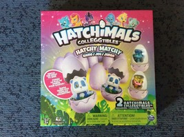 Hatchimals Colleggtibles Hatchy Matchy Game w/ 2 Exclusive Figures - $16.72