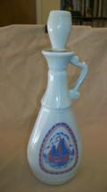 Vintage Jim Beam 1963 Decorative Bottle, empty, Sailboats & Windmills - $25.99