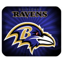 Mouse Pad The Baltimore Ravens Logo Professional American Football Team ... - $6.00