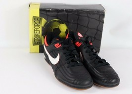 Vtg 90s New Nike Mens 8.5  Attackspeed Spell Out Indoor Soccer Shoes Tra... - $101.34