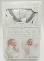 New Swaddle Sack Arms Up Sleeves With Foldover Mitten Cuffs 100% Cotton ... - $18.99