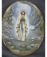 Our Lady Of Lourdes Collector Plate Visions of Our Lady Hector Garrido B... - $32.95