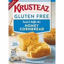 Krusteaz Gluten Free Honey Cornbread Mix, 15-Ounce Box - $6.35