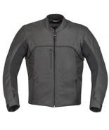 QASTAN Men's New Superb Black Motorbike CE Protectors Leather Jacket QMMJ27 - $159.20+