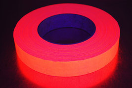 1 inch 50 yard uv orange blacklight gaffer tape1 thumb200