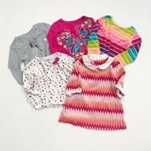 3T Girls Long Sleeve Shirt Lot Of 5 - $14.48