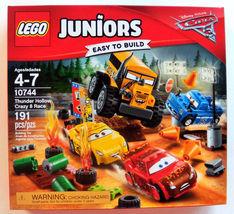 LEGO Juniors DISNEY PIXAR CARS 3 Thunder Hollow Crazy 8 Race 10744 NEW  - $39.99