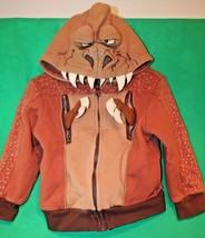 "Kids Youth Unisex DISNEY STORE "" REX ""Toy Story Zip Front Hoodie Jacket ... - $10.88"