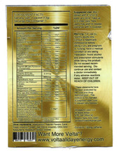 4 Packs of VOLTA Premium Dietary Supplement All Day Energy Boost Memory image 2