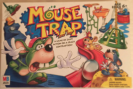 MOUSE TRAP GAME 2005 MILTON BRADLEY HASBRO WITH PLANS PLUS SPANISH INSTR... - $14.26