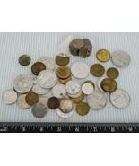 Old Random Foreign World Coin Lot g10 - $19.79