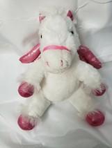 White Unicorn Pink Wings Plush. Dan Dee Collector's choice Soft Stuffed Animal - $5.00