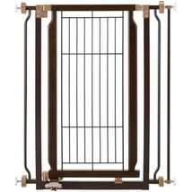Dog Gates For The House Hands Free Indoor Cat P... - $159.26