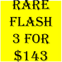 FRI-SUN FLASH SALE! PICK ANY 3 FOR $143  BEST OFFERS DISCOUNT  - $143.00