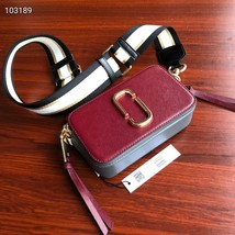 Marc Jacobs Snapshot Small Camera Bag Wine Multi Authentic - $209.00