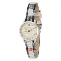 100% Authentic Burberry Watch BU10200 Classic Swiss Check Fabric Strap  - $199.00