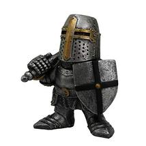 Pacific Giftware PT Medieval Times Crusader Helmet Knight Small Collectible Figu - $19.79