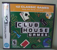 Club House Games Nintendo DS Video Game Brand New Factory Sealed - $7.12