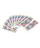 10pcs Flower Nail Decals Art Water Transfer Stickers(#4) - $6.53