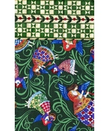 Half Yd each, Jim Shore Quilt Cotton Fabrics, 1st is Angels 2nd is Quilt... - $13.97