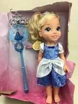 Disney Princess Share With Me Princess Cinderella Doll Tiara and Royal W... - $24.90