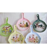 Vintage Ceramic Decorative  Wall Skillets - $20.00