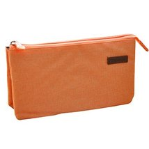 Multifunctional Pen Bag Pencil Case Stationery Holder Zipper Three Layer... - £10.27 GBP