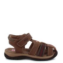 Boy's Rilo Leather Brown Fisherman Sandal - $23.99+