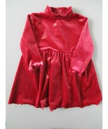 The Children's Place Stretch Girl's Size 12 Months Solid Red Long Sleeve... - $20.00