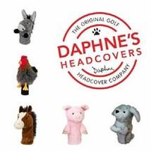 Daphne Golf Driver Headcover. Farmyard. Fits all Driver Head Sizes. Hen Horse - $42.01