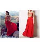 Anthropologie Rubied Dusk Dress By Rina Dhaka - $179.99