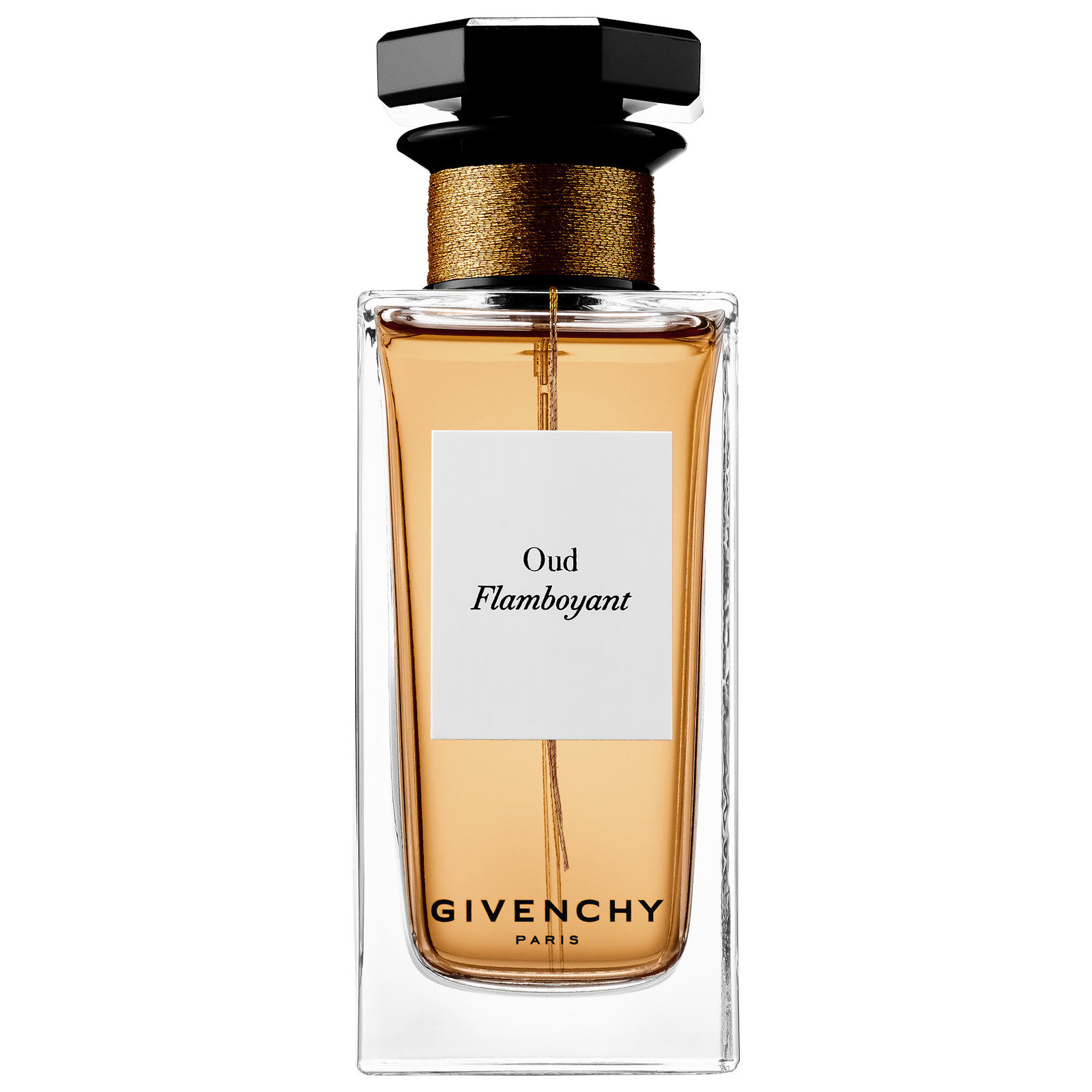 OUD FLAMBOYANT by GIVENCHY 5ml Travel Spray Perfume Labdanum Leather Aoud
