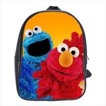 School bag 3 sizes elmo cookie monster  sesame street - $39.00+