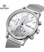 MEGIR Chronograph Slim Men Watch - $82.95