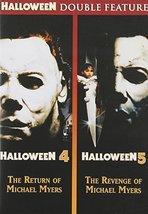 Halloween 4: Return of Michael Myers / Halloween 5: Revenge of Michael Myers DVD