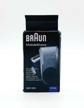 Braun Mobile Shave M-90 Electric Shaver For Men With Precision Trimmer - $19.52