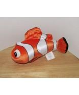 "Disney Store Finding Nemo clown fish 9"" Stuffed Animal firm Plush - $9.99"