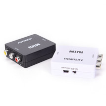 1080P HDMI To RCA AV/CVBS Adapter HD Mini HDMI2AV Video Converter for TV - $21.40