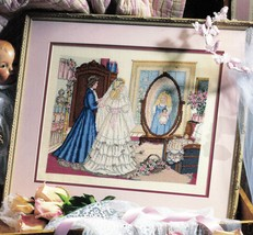Cross Stitch Wedding Bride Through A Mother's Eyes Paula Vaughan Pattern... - $14.99