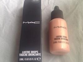 Mac Lustre Drops ~ Pink Rebel ~ Nib - $24.99