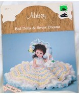 Dumplin Designs Bed Doll Crochet Pattern/Abbey BD 504 1986 - $6.50