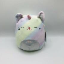 """Squishmallows 8"""" Camilla The Cati-corn Caticorn Pastel Kitty Sparkly Tum... - $19.79"""
