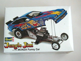 """FACTORY SEALED """"Jungle Jim"""" Monza Funny Car by Revell for Model King H-1469 - $74.24"""