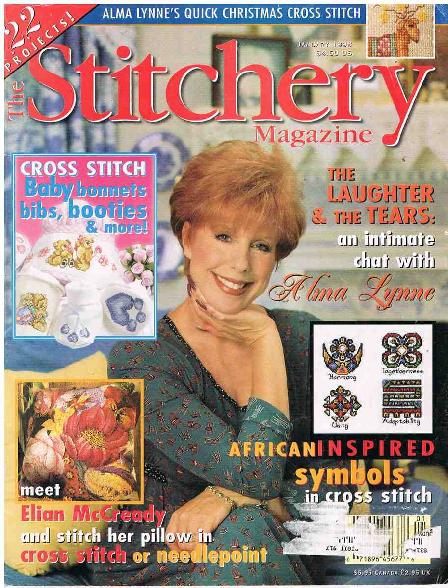 Back Issue of Ribbon Works Embroidery Craft Magazine