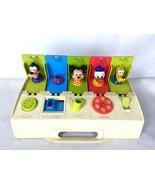 Gabriel Kohner Pop 'n Pals Busy Box Disney Mickey Goofy Donald 1975 5-Fu... - $39.95