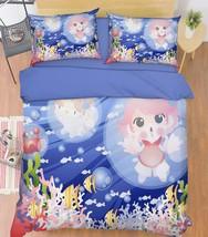 3D Coral Sea Girl 26 Bed Pillowcases Quilt Duvet Single Queen King US Summer - $102.84+