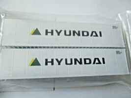 Fox Valley Models # FVM 891203 Hyundai 40' Reefer Container 2/Pack N-Scale image 1