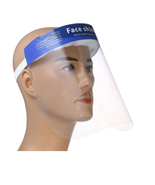 Cre8tion Clear Face Shield with Sponger& Blue Banner - $8.90+